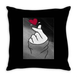 Love sign Throw Pillow   Artistshot