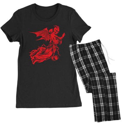 Skull Women's Pajamas Set Designed By Estore