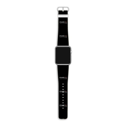 Music On World Off Apple Watch Band Designed By @sanjana11