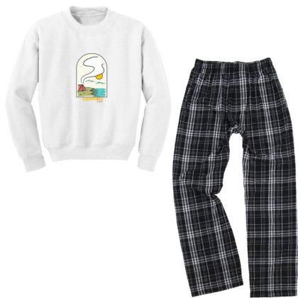 Camping Time2 01 Youth Sweatshirt Pajama Set Designed By Densap.id