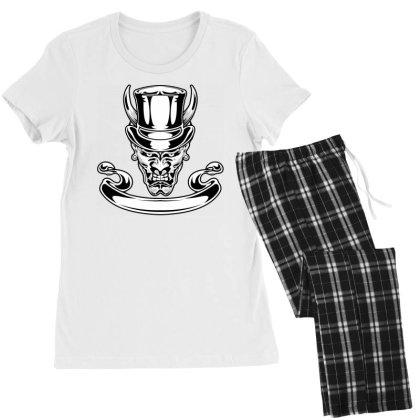 Demon, Skull Women's Pajamas Set Designed By Estore