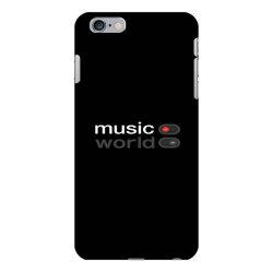 Music on world off iPhone 6 Plus/6s Plus Case   Artistshot