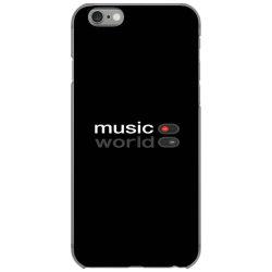 Music on world off iPhone 6/6s Case   Artistshot