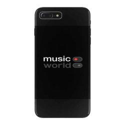Music on world off iPhone 7 Plus Case   Artistshot