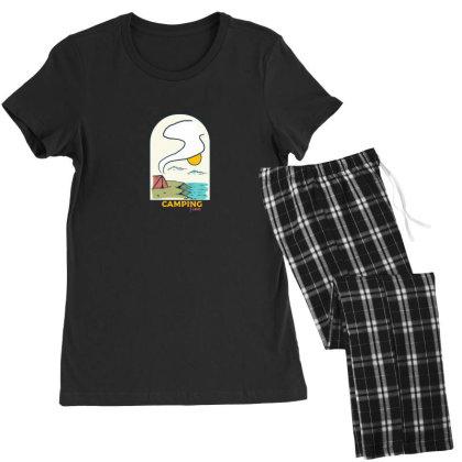 Camping Time2 01 Women's Pajamas Set Designed By Densap.id