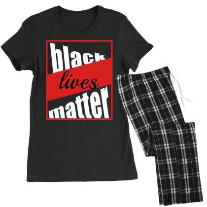 Black Lives Matter Women's Pajamas Set Designed By Elegance99