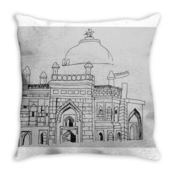 Tomb Throw Pillow | Artistshot