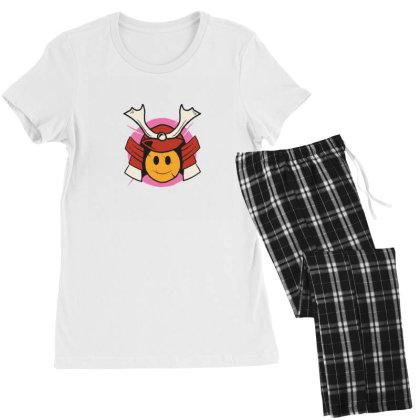 Samurai Smile Women's Pajamas Set Designed By Densap.id
