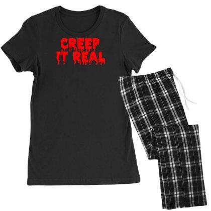 Creep It Real Women's Pajamas Set Designed By Farh4n