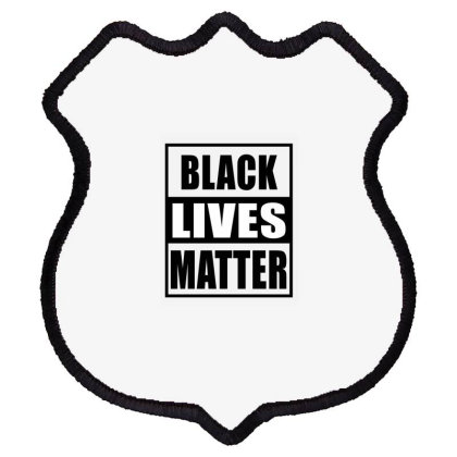 Black Lives Matter Shield Patch Designed By Elegance99