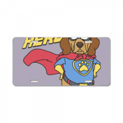 Super hero License Plate | Artistshot