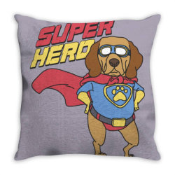 Super hero Throw Pillow | Artistshot