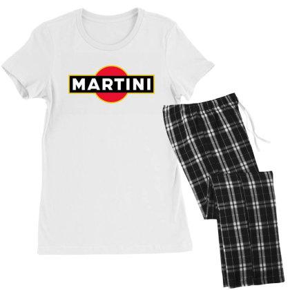 Martini Racing Team Women's Pajamas Set Designed By Mulaigini