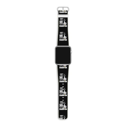 Happy Fathers Day From Your Swimming Champion Apple Watch Band Designed By Hoainv