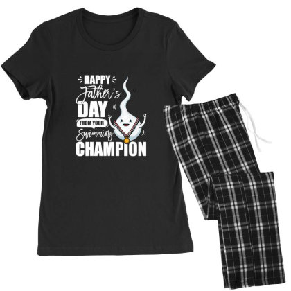Happy Fathers Day From Your Swimming Champion Women's Pajamas Set Designed By Hoainv