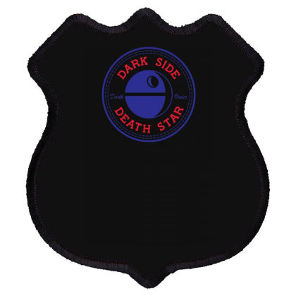 Dark Side Death Star Shield Patch Designed By Farh4n