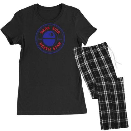 Dark Side Death Star Women's Pajamas Set Designed By Farh4n
