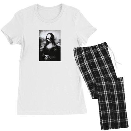 Mona Lisa Women's Pajamas Set Designed By Aleksandra