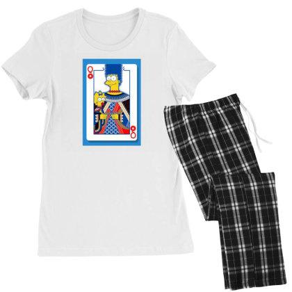 Simpsons Women's Pajamas Set Designed By Disgus_thing