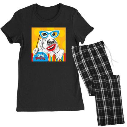 Dog Women's Pajamas Set Designed By Disgus_thing