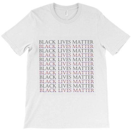 Black Lives Matter T-shirt Designed By Redline77