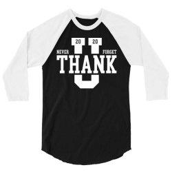 doctor thank you doc 3/4 Sleeve Shirt | Artistshot