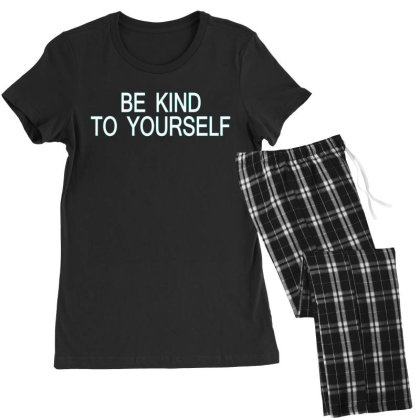 Be Kind To Yourself Women's Pajamas Set Designed By Faical