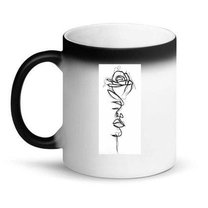 Rose, Face Magic Mug Designed By Aleksandra