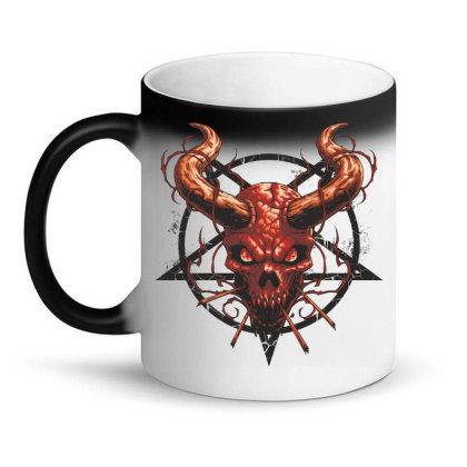 Devil Skull Magic Mug Designed By Estore