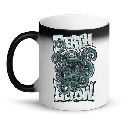 Skull Octopus Magic Mug Designed By Estore