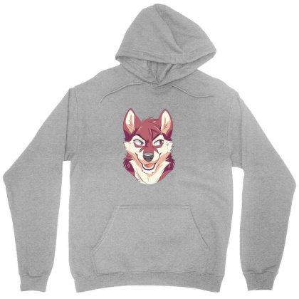 Wolf Cartoon Unisex Hoodie Designed By Estore
