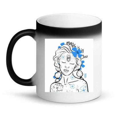 Magic Awaits Magic Mug Designed By Shivashroom