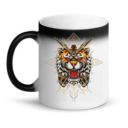 Tiger Mecha Magic Mug Designed By Jagat Kreasi