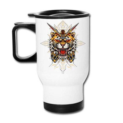 Tiger Mecha Travel Mug Designed By Jagat Kreasi