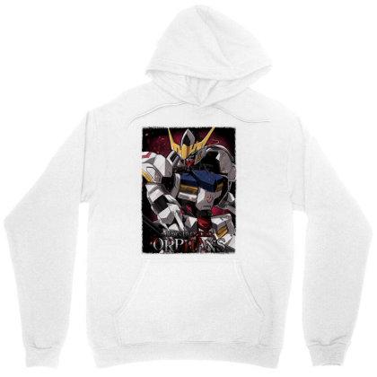 Gundam Barbatos Unisex Hoodie Designed By Gin Studio