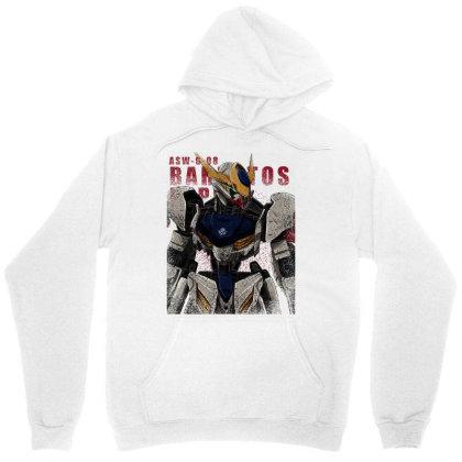 Gundam Barbatos Lupus Unisex Hoodie Designed By Gin Studio