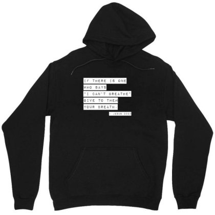 I Can't Breathe Unisex Hoodie Designed By Bpn Inside