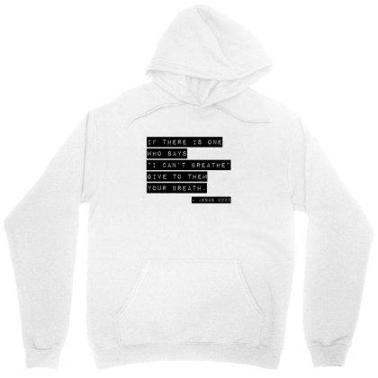 I Can't Breathe | Black Unisex Hoodie Designed By Bpn Inside