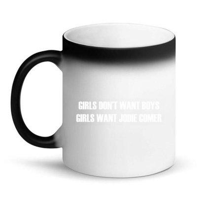 Killing Eve - Girls Want Jodie Comer | White Magic Mug Designed By Designby21