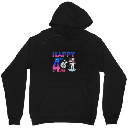 Funny Color Happy 4th Of July Independence Day Of Usa Tshirt For All Unisex Hoodie Designed By Minh Nguyen