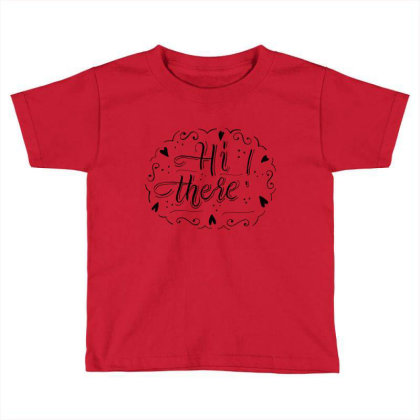 Typography Text Art T Shirts Toddler T-shirt Designed By Chiks