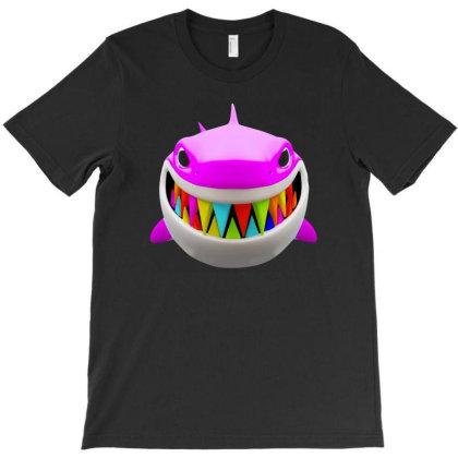 Gooba Shark T-shirt Designed By Honeysuckle