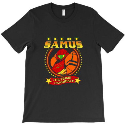 Elect Samus   The Prime Candidate T-shirt Designed By Teresa