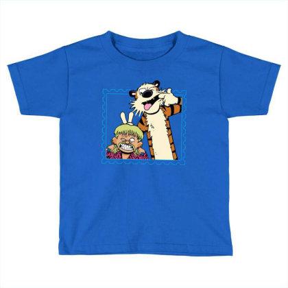 Exotic Joe And Tiger Toddler T-shirt Designed By Teresa