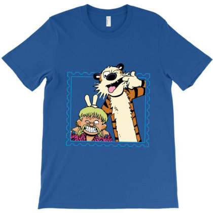 Exotic Joe And Tiger T-shirt Designed By Teresa