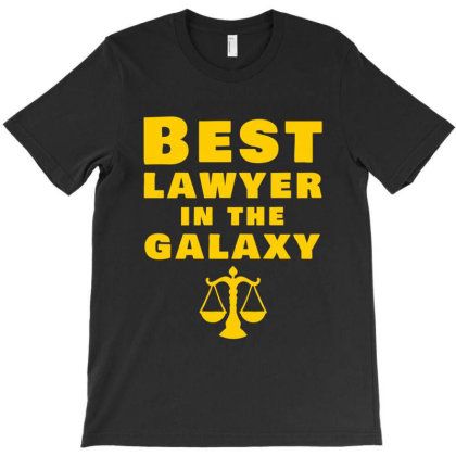 Best Lawyer In The Galaxy T-shirt Designed By Cypryanus