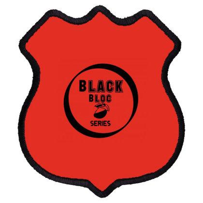 Black Bloc Shield Patch Designed By Dav