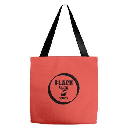 Black Bloc Tote Bags Designed By Dav