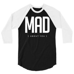 mad about you crazy in love 3/4 Sleeve Shirt | Artistshot