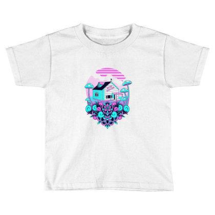 Acid House Toddler T-shirt Designed By Godzillarge
